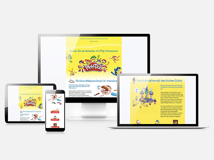 Hasbro Newsletter Play-Doh by PSM&W