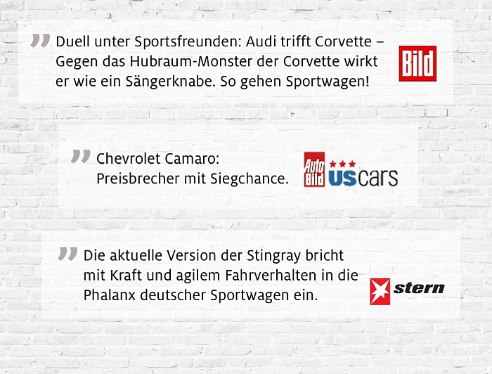 Chevrolet Pressestimmen Medienarbeit