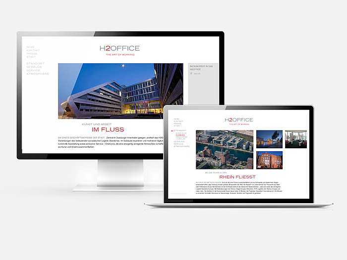 Website des H2Office