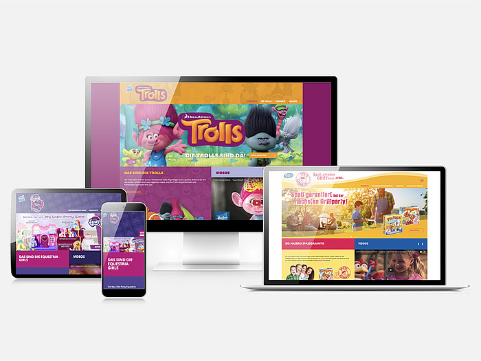 Hasbro Brands Microsites Template by PSM&W