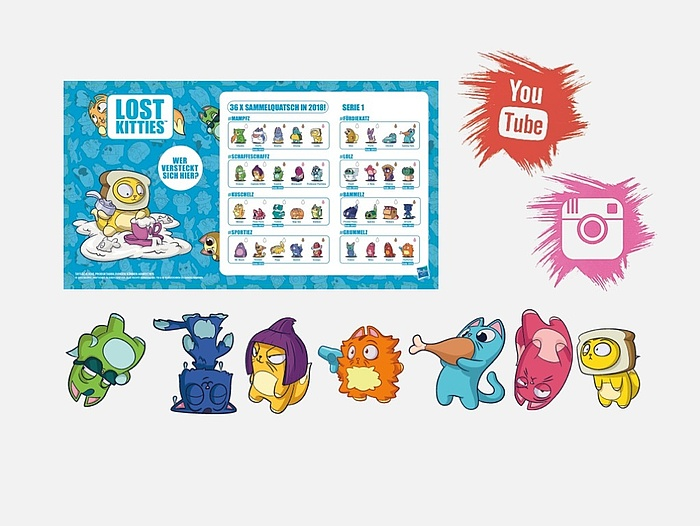 Hasbro Lost Kitties Influencer-Kampagne